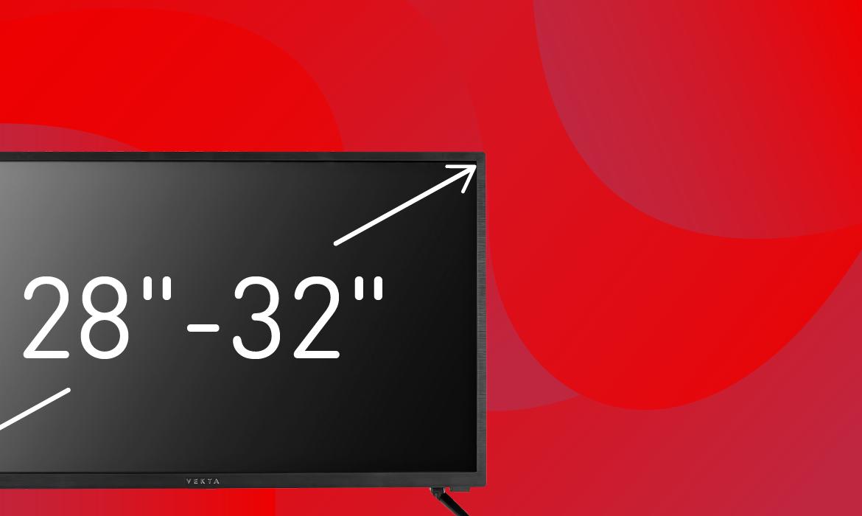 Телевизоры с диагональю 28-32″