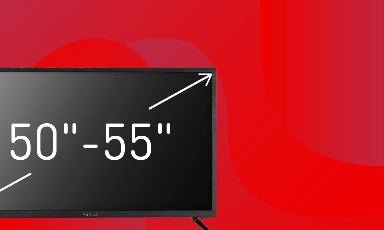 Телевизоры с диагональю 50-55″