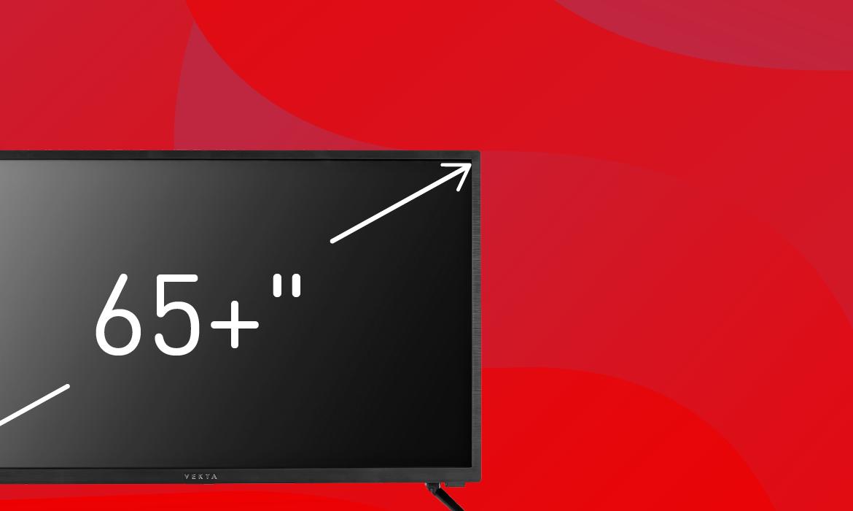 Телевизоры с диагональю 65+